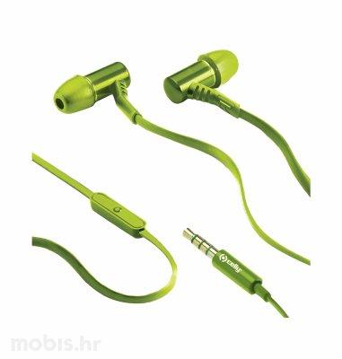 CELLY stereo slušalice  BSIDE: zelene