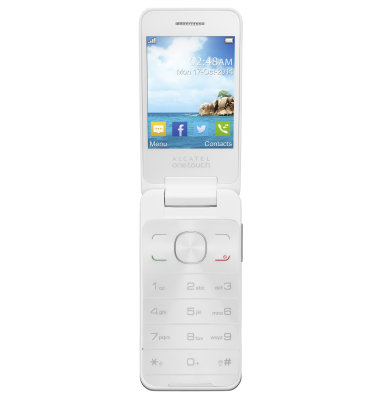 Alcatel 2012 Dual SIM: bijeli
