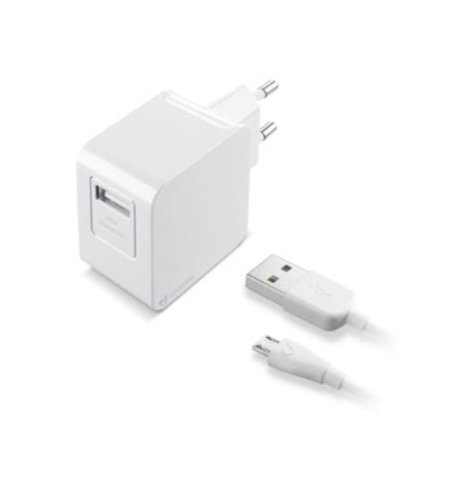 Cellularline kućni punjač USB dodatak 2A+KAB
