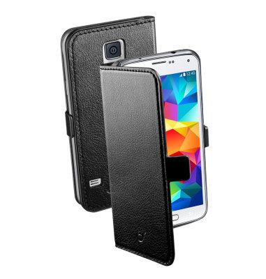 Cellular Line preklopna zaštita za uređaj Samsung Galaxy S5: crna