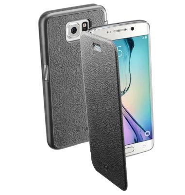 Cellular Line preklopna zaštita za uređaj Samsung Galaxy S6: crna