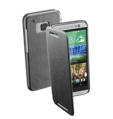 Cellular Line preklopna zaštita za uređaj HTC ONE M9: crna
