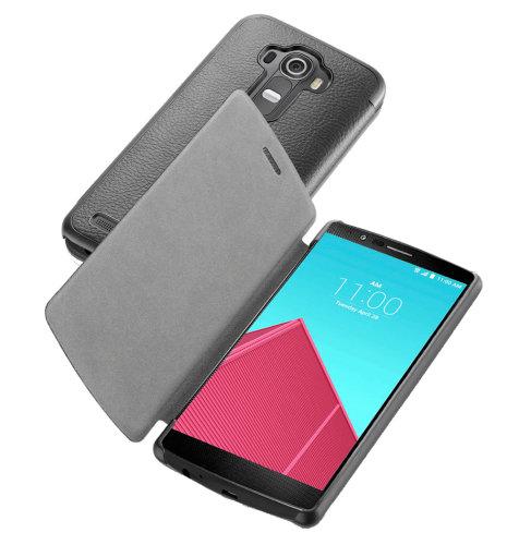 Cellular Line preklopna zaštita za uređaj LG G4: crna