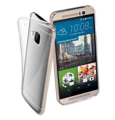 Cellular Line silikonska zaštita za uređaj HTC M9