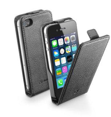 Cellular Line preklopna zaštita za uređaj iPhone 4: crna