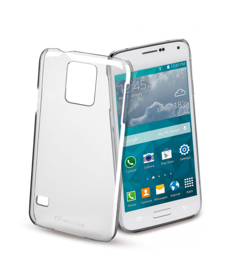 Cellular Line prozirna zaštita za uređaj Samsung Galaxy S5