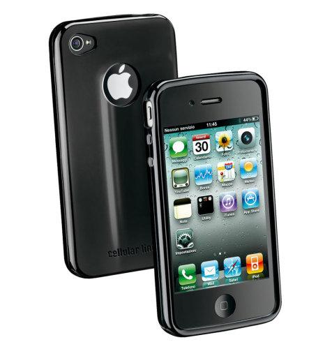 Cellular Line silikonska zaštita za uređaj iPhone 5: crna