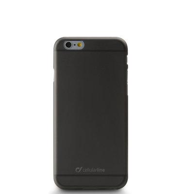 Cellular Line silikonska zaštita za uređaj iPhone 6: crna