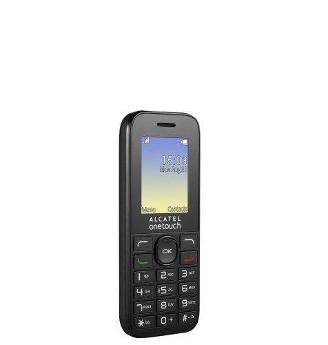 Alcatel 1016D: crni
