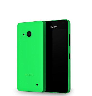 Mozo plastična maska Lumia 550: zelena
