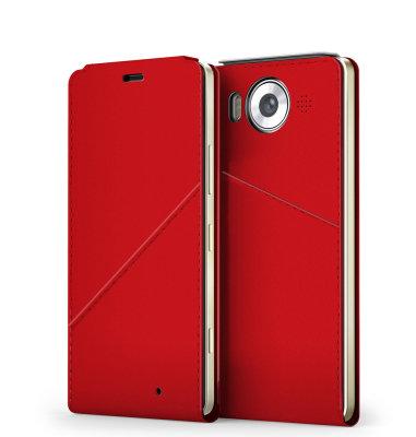 Mozo NT preklopna maska Lumia 950: crvena + WLC&NF