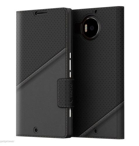 Mozo preklopna maska Lumia 950XL: crna + WLC & NFC