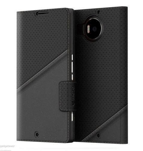 Mozo preklopna maska Lumia 950XL: crna golf