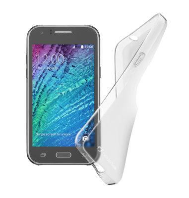 Cellular Line silikonska prozirna zaštita za uređaj Samsung Galaxy J1