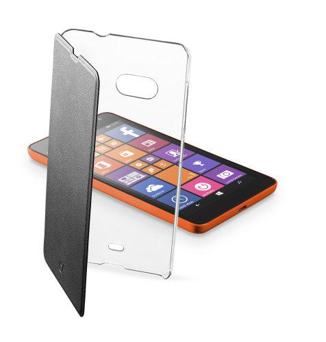 Cellular Line preklopna zaštita za uređaj Lumia 535: crna