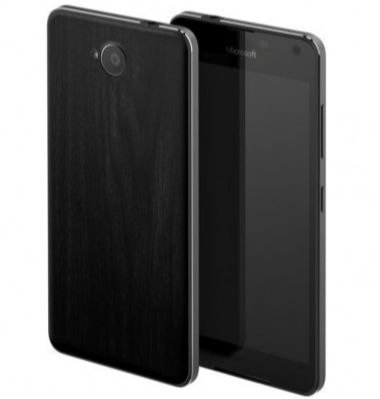 Mozo maska za poleđinu Lumia 650: crna + WLC & NFC
