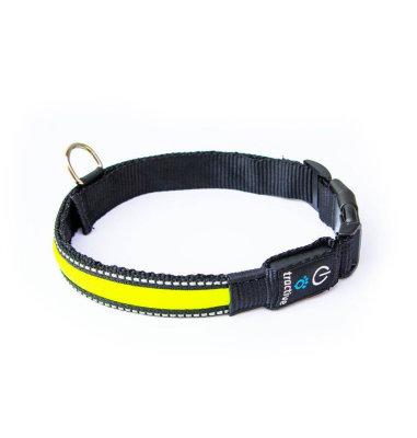 Tractive LED ogrlica velika: žuta