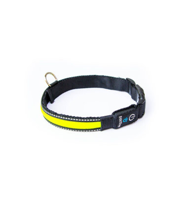 Tractive LED ogrlica mala: žuta