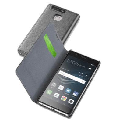 Cellular Line preklopna zaštita za uređaj Huawei P9: crna