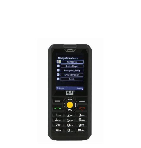 CAT® B30 Dual SIM: crni