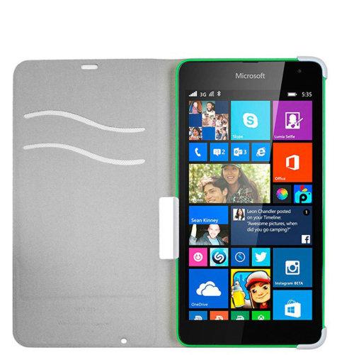Mozo preklopna maska Lumia 535: bijela