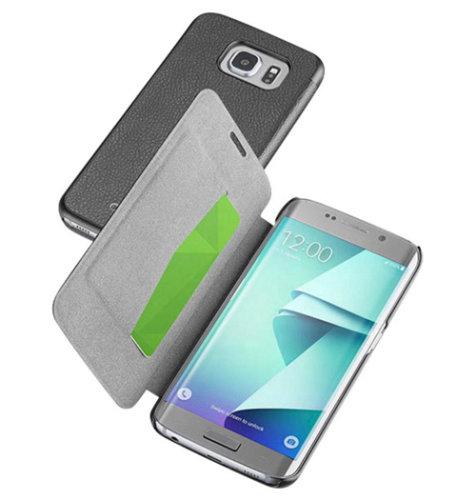 Cellular Line preklopna zaštita za uređaj Samsung Galaxy S7 EDGE: crna