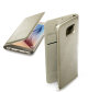 Cellular Line preklopna zaštita za uređaj Samsung Galaxy S7E: zlatna s poklopcem za bateriju