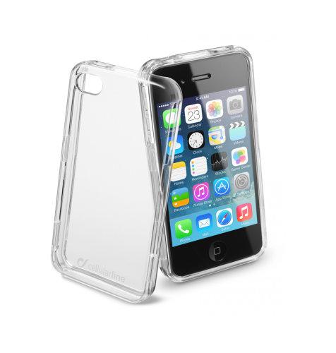 Cellular Line prozirna zaštita za uređaj iPhone 4