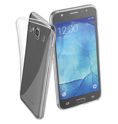 Cellular Line silikonska prozirna zaštita za uređaj Samsung Galaxy J5