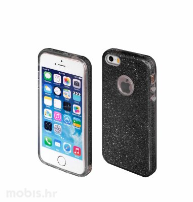 """Zadnje kućište """"Blink"""" za Apple iPhone 5/5S/SE: crna"""