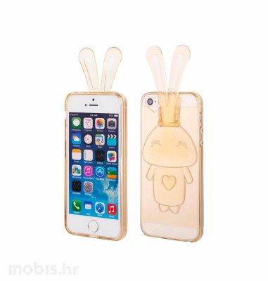 """Zadnje kućište """"Bunny"""" za Apple iPhone 5/5S/SE: zlatna"""
