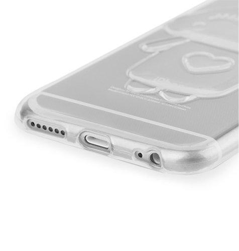Maskica Bunny za Apple iPhone 6/6s: prozirna