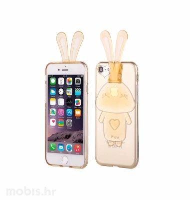"""Zadnje kućište """"Bunny"""" za Apple iPhone 7: zlatna"""