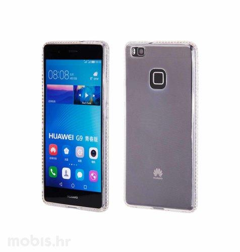 """Zadnje kućište """"Crystals"""" Huawei P9 lite: srebrna"""