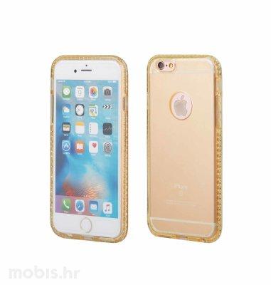 """Zadnje kućište """"Crystals"""" za Apple iPhone 6/6S 4.7"""": zlatna"""