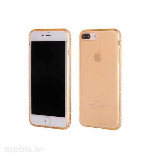 """Zadnje kućište """"Crystals"""" za Apple iPhone 7 Plus: zlatna"""
