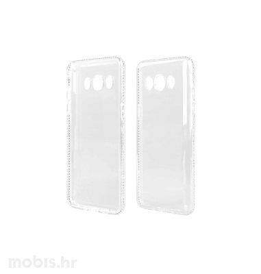 """Zadnje kućište """"Crystals"""" za Samsung J510 J5 2016: srebrna"""