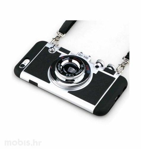 """Zadnje kućište """"Iphoto"""" za Samsung J510 i Apple iPhone 6/6S 4.7"""": crno"""