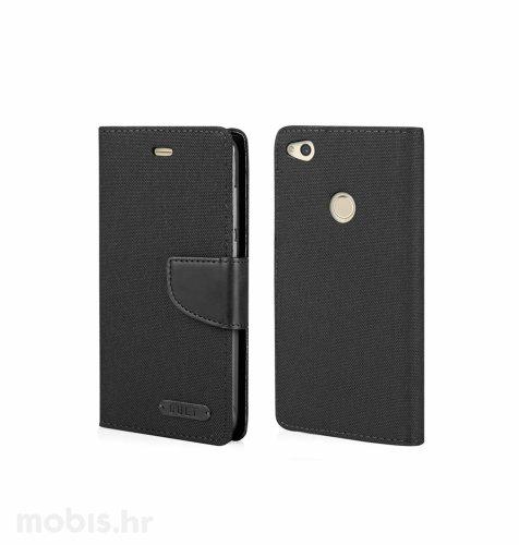 "Preklopna maska ""Fancy"" za Huawei P9: crni"