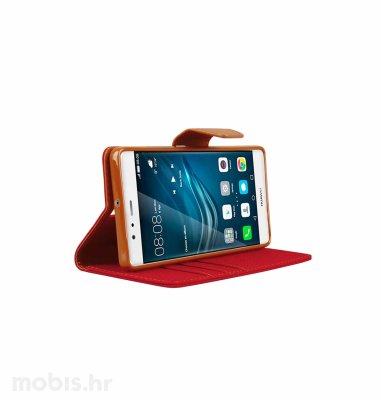 "Preklopna maska ""Fancy"" za Huawei P9: crveni"