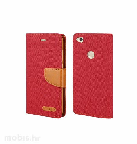 "Preklopna maska ""Fancy"" za Huawei P9 lite: crveni"
