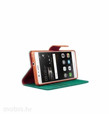 "Preklopna maska ""Fancy"" za Huawei P9 lite: zeleni"