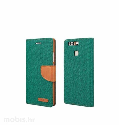 "Preklopna maska ""Fancy"" za Huawei P9: zeleni"