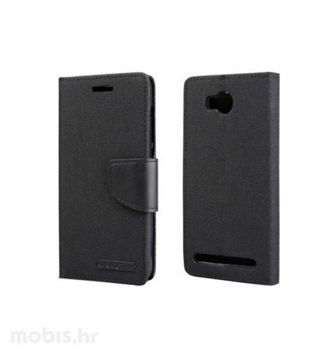 "Preklopna maska ""Fancy"" za Huawei Y3 II: crni"