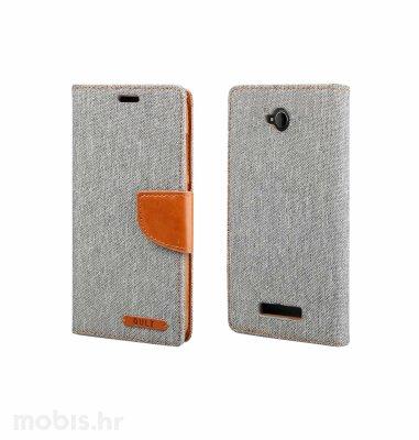 "Preklopna maska ""Fancy"" za Huawei Y3 II: sivi"