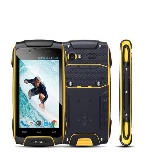 Evolveo STRONGPHONE Q8 LTE: žuta
