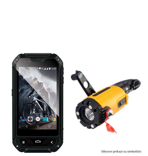 Evolveo STRONGPHONE Q5 + ručna lampa