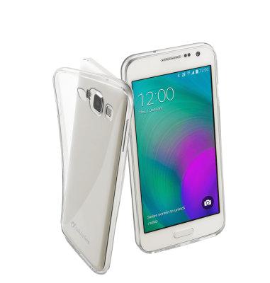 Cellular line silikonska zaštita (soft) za uređaj Samsung Galaxy A3 2017: prozirna
