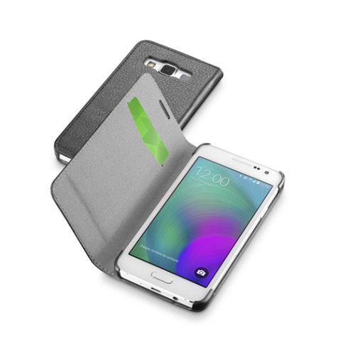 Cellular line preklopna zaštita za uređaj Samsung Galaxy A3 2017: crna