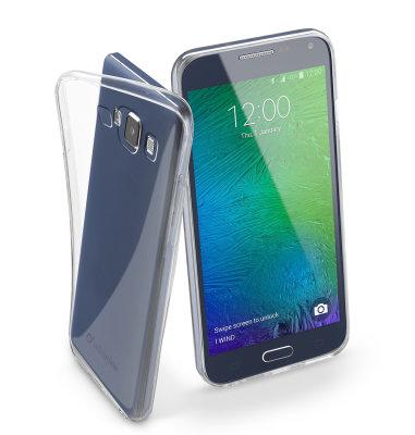 Cellular line silikonska zaštita za uređaj Samsung Galaxy A5 2017: prozirna